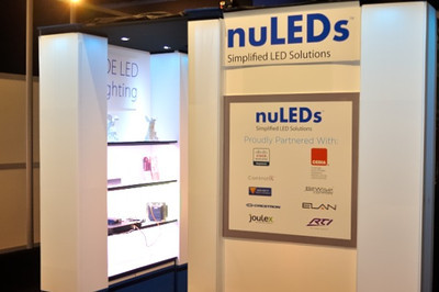 Photo of NuLEDs Expo Booth