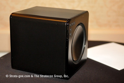 Photo of side of Nano subwoofer
