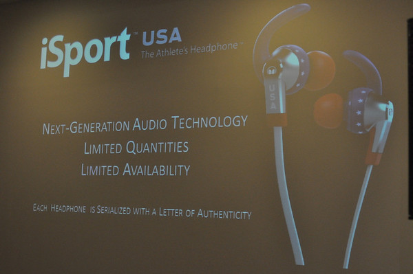 New iSport USA Headphones