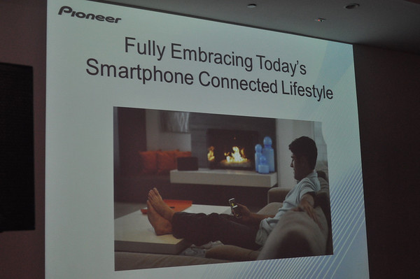 Pioneer is Embracing the Smartphone Lifestyle