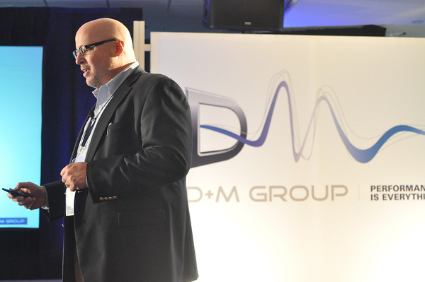 D+M Group's Jim Ludoviconi at Press Event