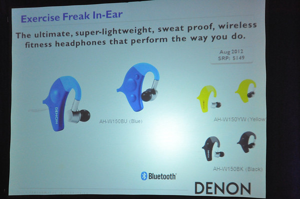 Denon's AH-W150 Exercise Freak Model