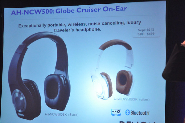 Denon's Headphones Designed for the Global Cruiser